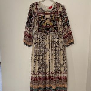 Anthropologie Bhanuni dress. Size 4